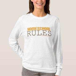 Homeschool hoodie: Homeschool Rules T-Shirt