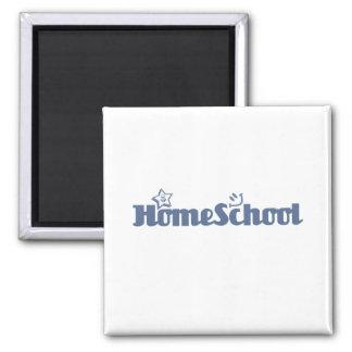 HomeSchool Imán Cuadrado