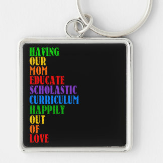 HOMESCHOOL KEYCHAIN