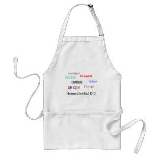 homeschool kid 2 adult apron