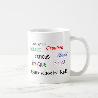 homeschool kid 2 coffee mugs