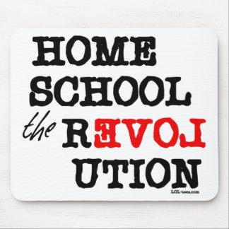 Homeschool la revolución alfombrilla de raton