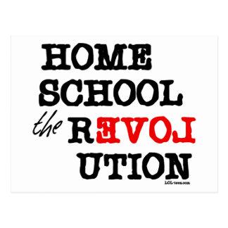 Homeschool la revolución tarjetas postales