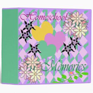 Homeschool Memories Binder