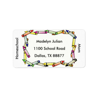 Homeschool Mom Address Labels
