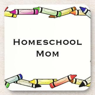 Homeschool Mom Coaster