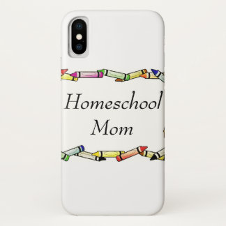 Homeschool Mom iPhone X Case