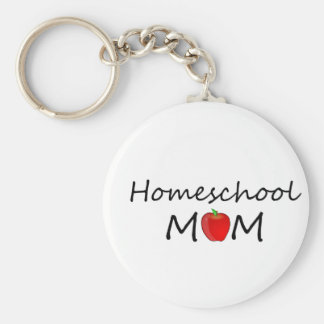Homeschool Mom Keychain