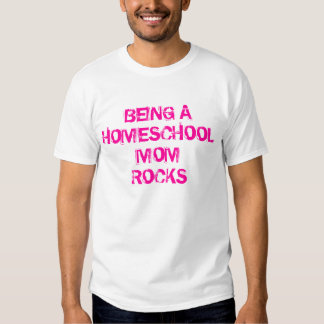 Homeschool Mom Rocks Shirt