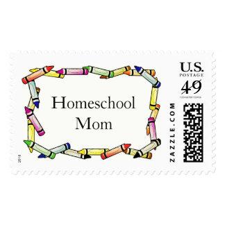 Homeschool Mom Stamp