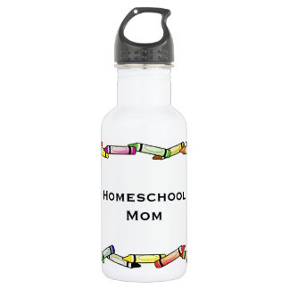 Homeschool Mom Water Bottle