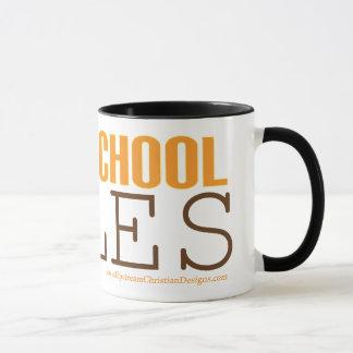 Homeschool mug: Homeschool Rules Mug