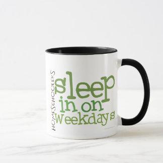 Homeschool mug: Sleep in Mug
