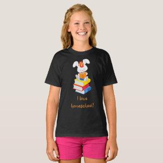Homeschool Rabbit T-Shirt