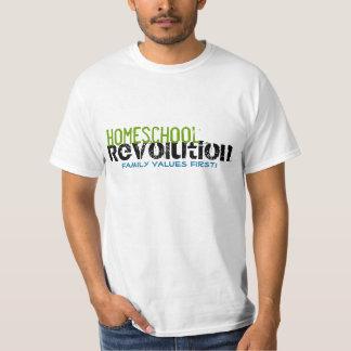 Homeschool Revolution - Family Values First! Mens T-Shirt