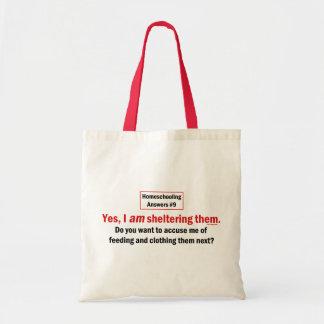 Homeschool Shelter Canvas Bags