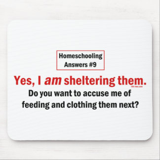 Homeschool Shelter Mouse Pads