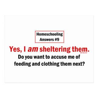 Homeschool Shelter Postcard