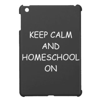 Homeschool Spirit And Humor iPad Mini Cases