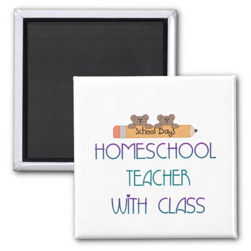 HomeSchool Teacher Magnet