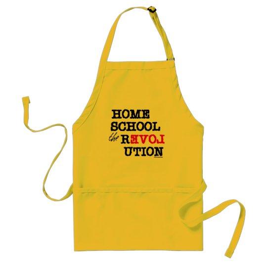 Homeschool the REVOLution Adult Apron
