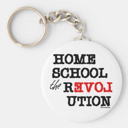 Homeschool the REVOLution Keychain