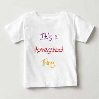 Homeschool Thing Baby T-Shirt