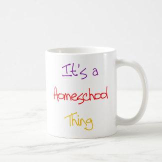 Homeschool Thing Coffee Mug