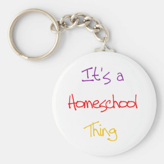 Homeschool Thing Keychain