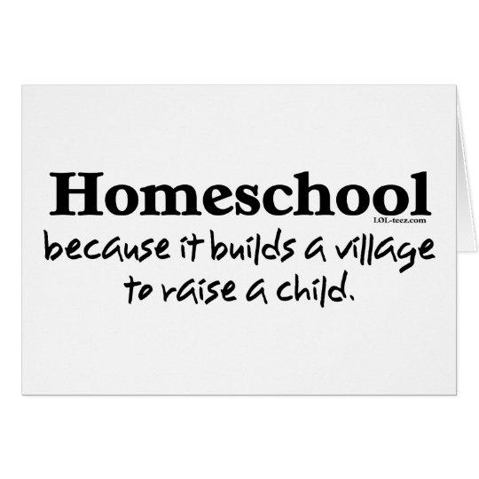 Homeschool Village Card
