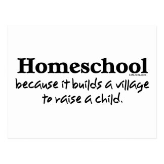 Homeschool Village Postcard