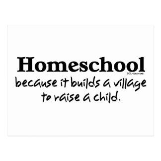Homeschool Village Postcard