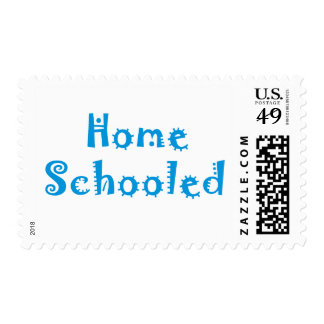 Homeschooled Postage Stamp