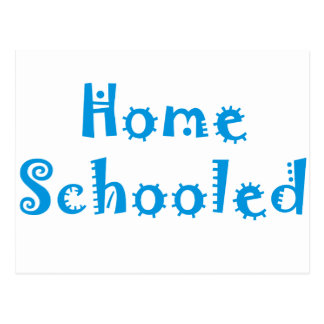 Homeschooled Postcard