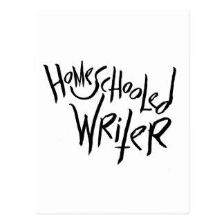 Homeschooled Writer Postcard