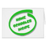 Homeschooler Inside Card