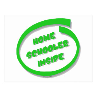 Homeschooler Inside Postcard