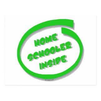 Homeschooler Inside Postcard