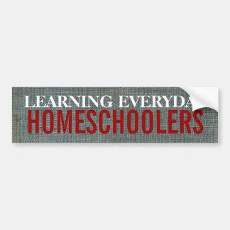 Homeschoolers Pegatina Para Auto