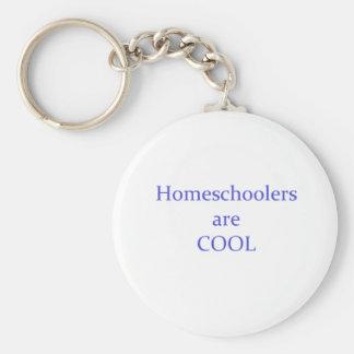 Homeschoolers es fresco llavero redondo tipo pin
