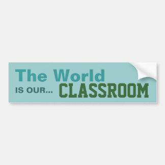 Homeschoolers - pegatina de la sala de clase pegatina para auto