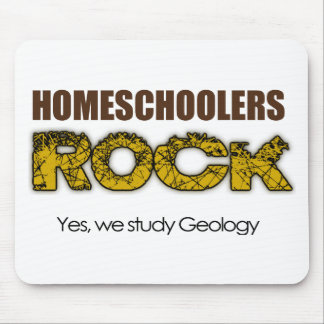 Homeschoolers Rock Mouse Pad