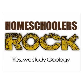 Homeschoolers Rock Postcard