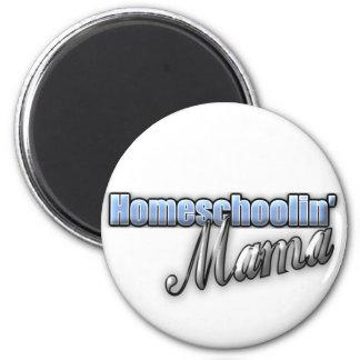 Homeschoolin' Mama 2 Inch Round Magnet