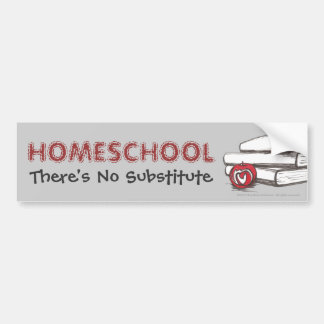 Homeschooling Bumper Sticker Customizable