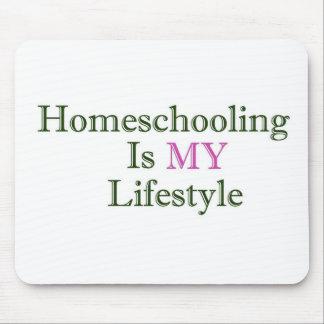 Homeschooling es MI forma de vida Alfombrillas De Ratones