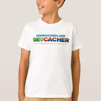 Homeschooling Geocacher T-Shirt