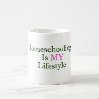 Homeschooling is MY Lifestyle Mug