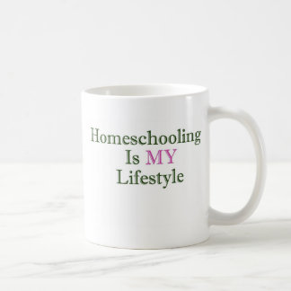 Homeschooling is MY Lifestyle Classic White Coffee Mug