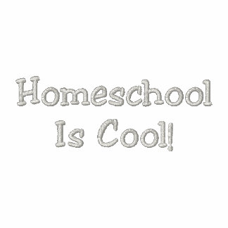 HomeschoolIs Cool Embroidered Hoody